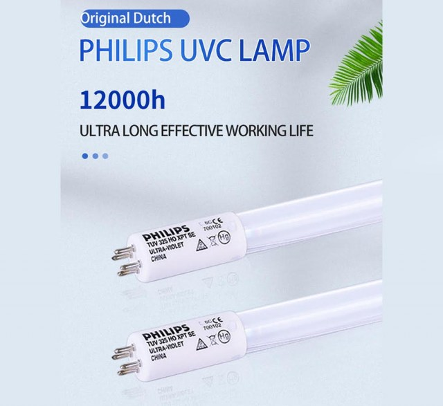 Mobile UV lamp sanitizer